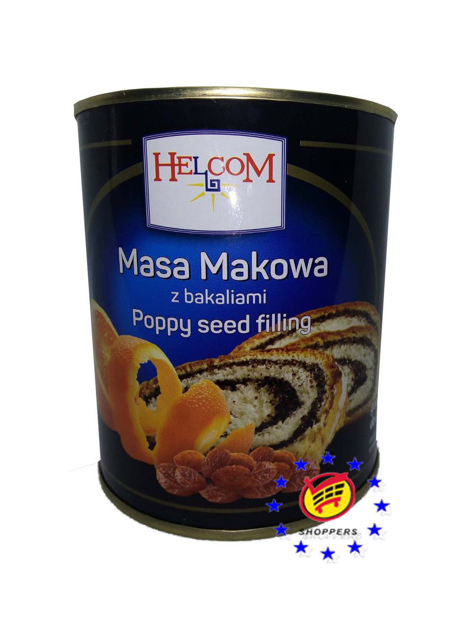 Маковая масса Helcom 850 г