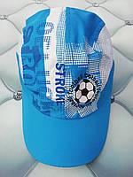 Бейсболка для мальчика Футбол, р. 54, голубая, фото 1