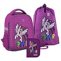 Рюкзак укомплектованный Kite Education My Little Pony Фиолетовый (SET_LP20-555S)