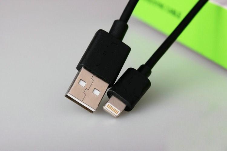 USB кабель Lightning BLKN iPhone 5,6,7 черный