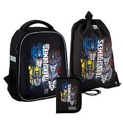 Школьный набор Kite Education Transformers Черный (SET_TF20-555S)