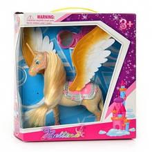Золотая лошадка с крыльями