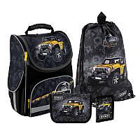 Рюкзак укомплектованный Kite Education Off-road Черный (SET_K20-501S-1)