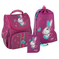 Рюкзак укомплектованный Kite Education Bunny Бордовый (SET_K20-501S-7)