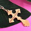 Золотой крестик нательный, фото 2