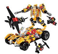 Конструктор аналог Лего Qman Power Squad, большой набор на 622 детали