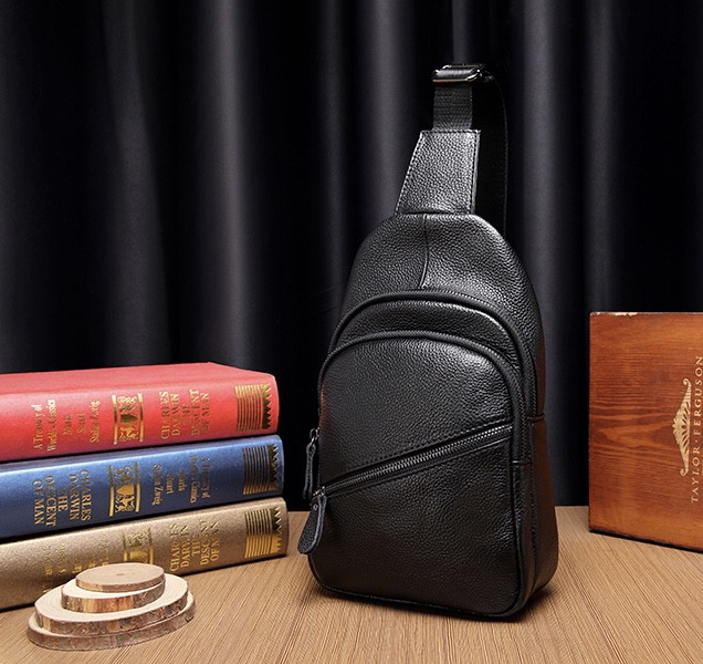 Мужская кожаная сумка. Модель 61299