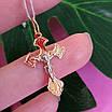 Золотой крестик нательный, фото 6