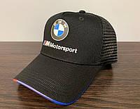 Кепка, Бейсболка BMW Motorsport Чёрная 123