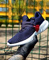 Мужские кроссовки синие в стиле Adidas Alphabounce Instinct