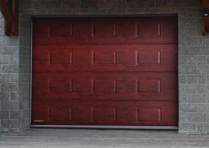 Ворота секційні ДорХан на гараж розміри 3700*2400