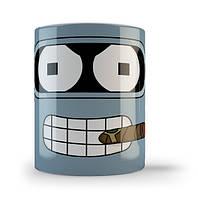 Кружка чашка Бендер Футурама
