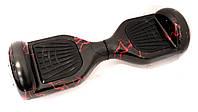 Гироборд 6,5 дюймов Smart Balance Гироскутер Сигвей Цвет - Черный с Красными Молниями