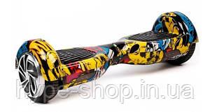 Гироборд 6,5 дюймов Smart Balance Гироскутер Сигвей Цвет - Хип-хоп полная комплектация