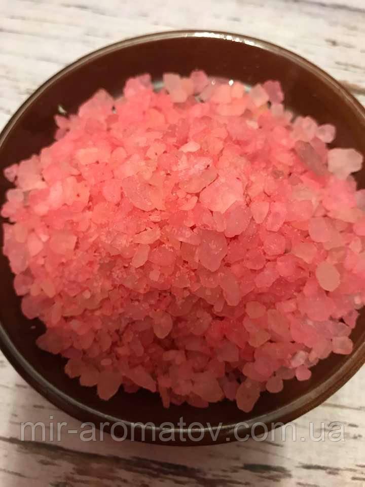 Соль для ванны Личи и пачули 100г