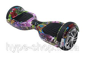 Гироборд 6,5 дюймов Smart Balance Гироскутер Сигвей Цвет - Хип-хоп Фиолетовый полная комплектация