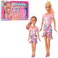 Кукла типа барбиДефа Defa 29 см с одеждой и дочка,платья, обувь, 8447