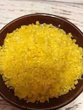 Сіль Мертвого Моря з ароматом апельсина 100г