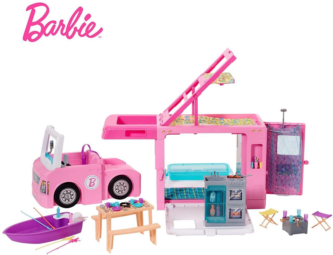 Кемпер трейер мечты Барби 3 в 1