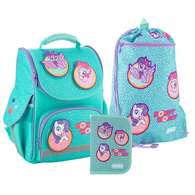 Рюкзак укомплектованный Kite Education My Little Pony Бирюзовый (SET_LP20-501S)