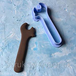 """Вирубка для пряників """"Ключ розвідний"""" / Вырубки - формочки для пряников """"Ключ разводной"""""""