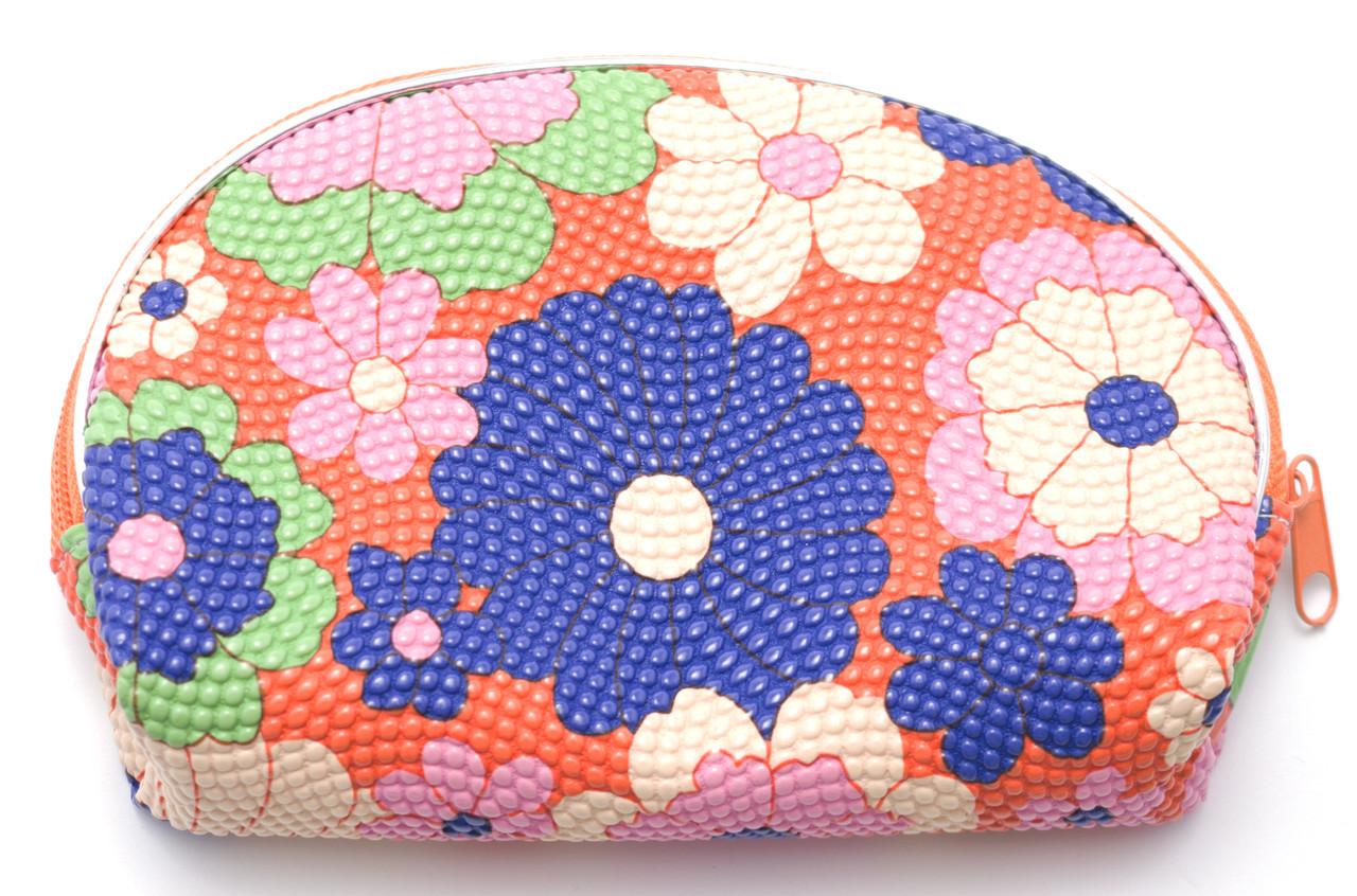 Жіноча косметичка з квітковим принтом Б/Н art. 07867 № 3