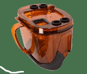 Контейнер в сборе для пыли для пылесоса Rowenta оранжевый RS-RT3481