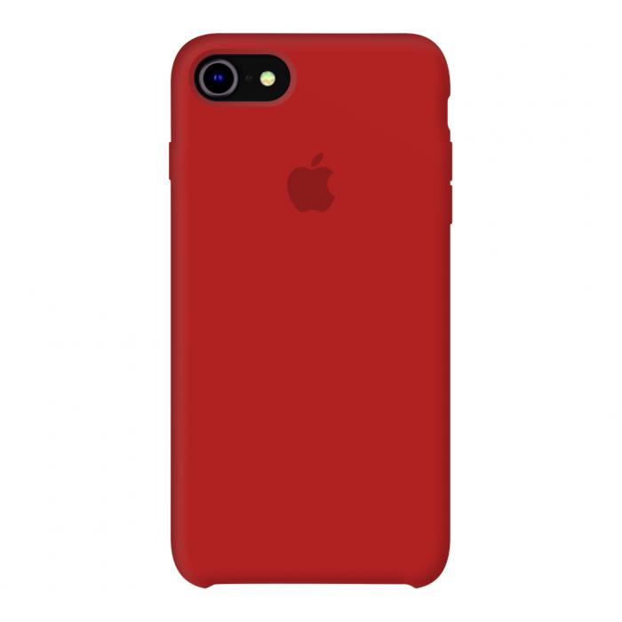 Силиконовый чехол на айфон/iphone 7/8 красный red
