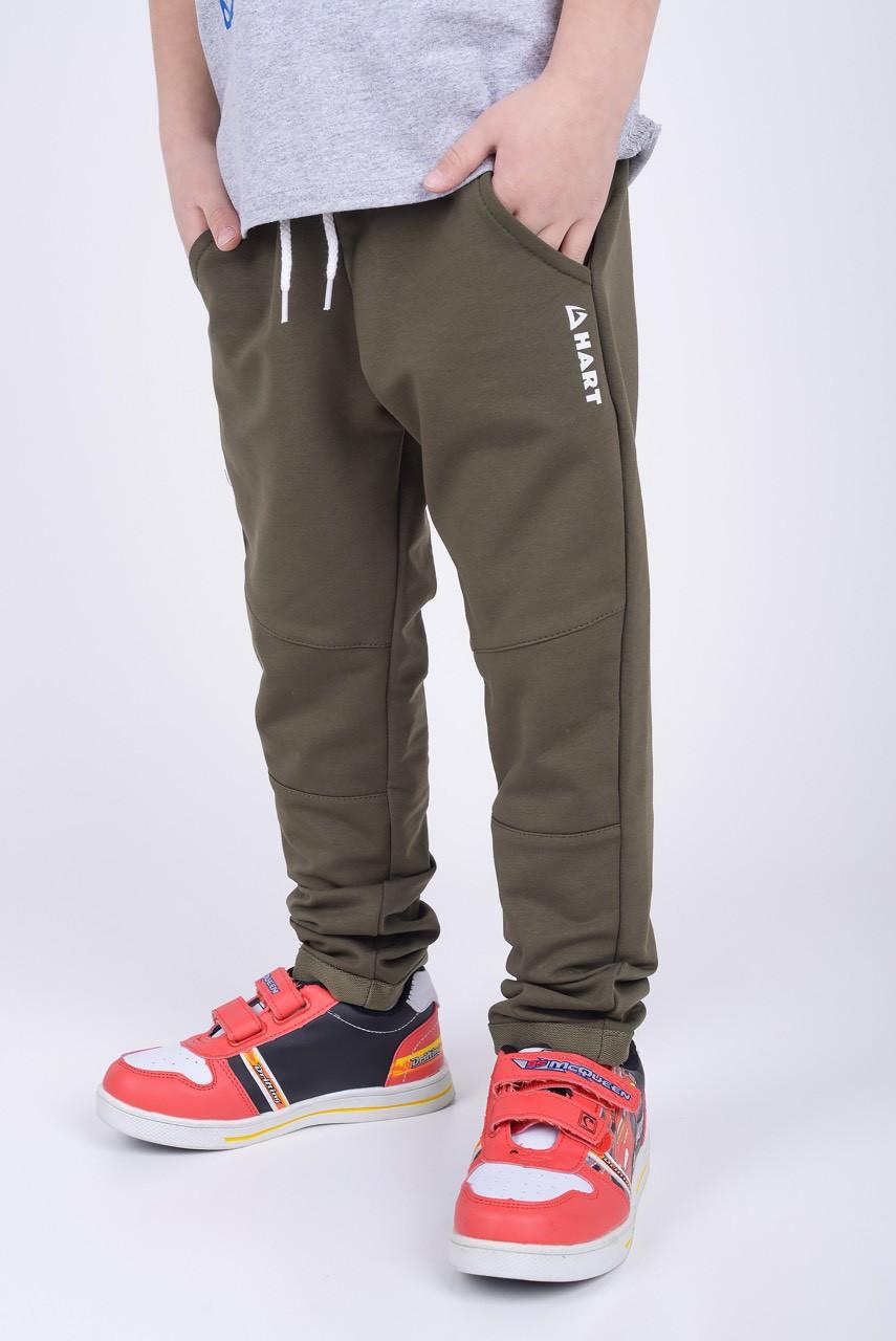 Спортивные штаны для мальчика Хаки р. 128 (61 см)