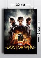 Плакат А3, Доктор Кто 6