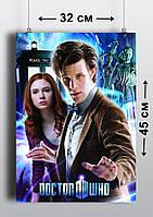 Плакат А3, Доктор Кто 8