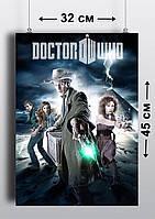 Плакат А3, Доктор Кто 9