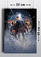 Плакат А3, Доктор Кто 10