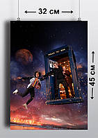 Плакат А3, Доктор Кто 11
