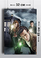 Плакат А3, Доктор Кто 13