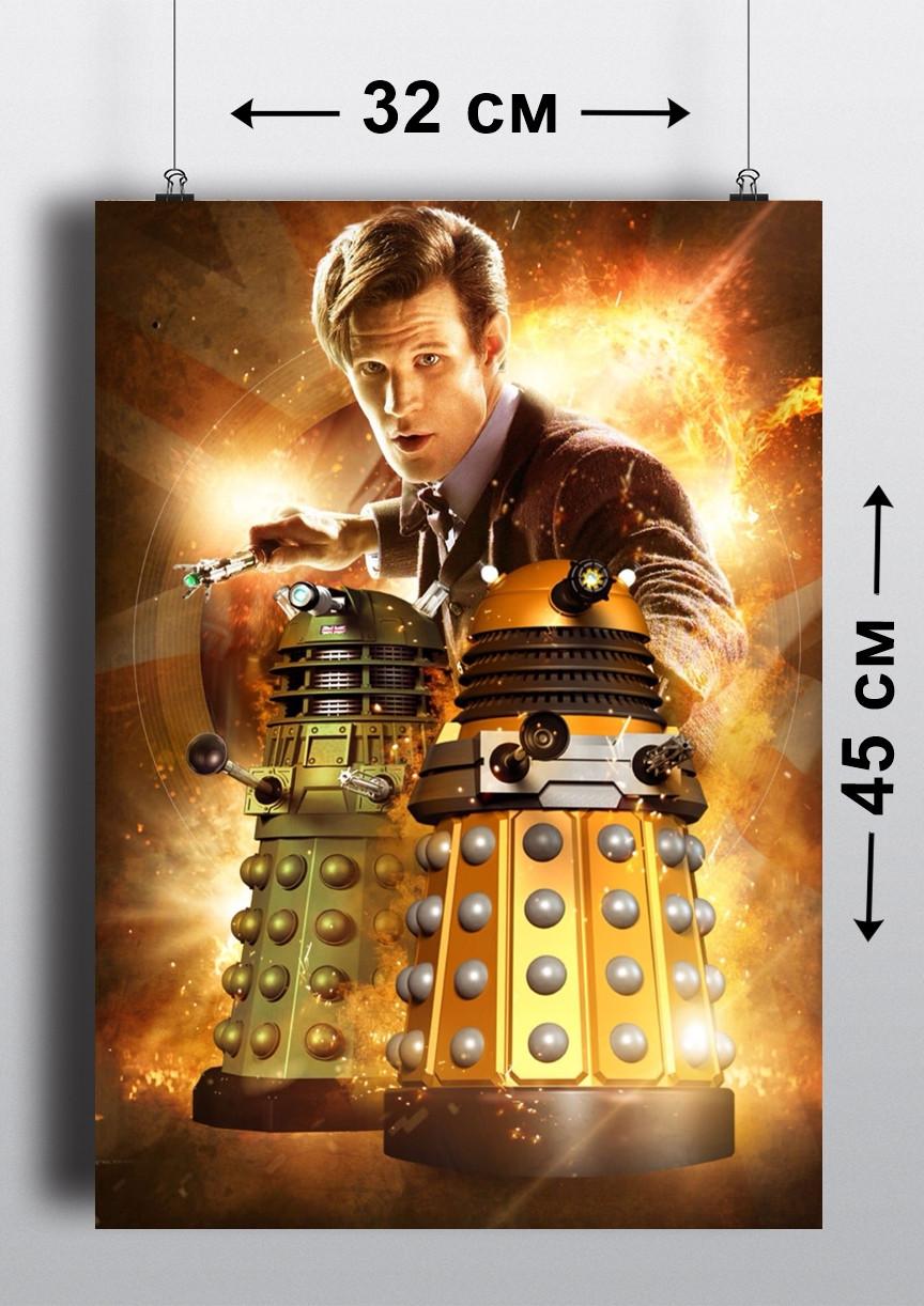 Плакат А3, Доктор Кто 14