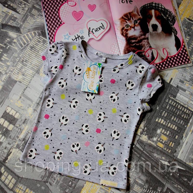 Детская футболка панды Five Stars KD0307-122p