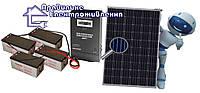 """Сонячний комплект електростанції """"Оптимальний"""" 2400 Вт*год"""