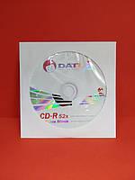 Диск Datex CD-R 52x 700MB 80min для записи