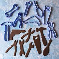 """Вирубки для пряників """"Інструменти набір"""" / Вырубки - формочки для пряников """"Инструменты набор"""""""