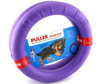 Тренировочные снаряды для собак 28 см Collar Puller Standart (Пуллер Стандарт) 2 кольца