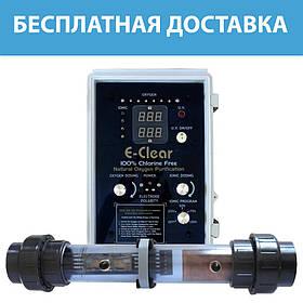 Бесхлорная система очистки бассейна E–Clear MK7/CF1–150