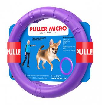 Тренировочные снаряды для собак 13 см Collar Puller Micro (Пуллер Микро) 2 кольца
