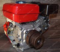 Двигатель с центробежным сцеплением GX-220 7.5 л.с бензиновый вал 20 мм под шпонку.