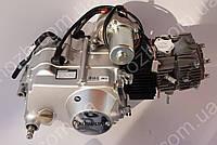 Двигун 110 см3 напівавтомат на Дельту, Альфу, Актив