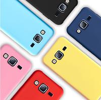 Чехол силиконовый Silicon Case для Samsung Galaxy J7 J700 розовый