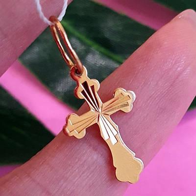 Золотий хрест без розп'яття