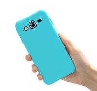 Чехол силиконовый Silicon Case для Samsung Galaxy J7 J700 тифани мята