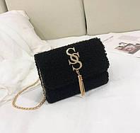 Жіноча сумочка хутряна, фото 1