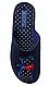 Женские тапочки Belsta с котиками (синие) размер 36. 37. 38 размер, фото 2
